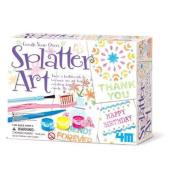 4M Create Your Own Splatter Art each