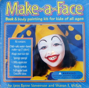 Make-a-Face Book and Body Painting Kit