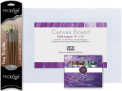 C2F Art Advantage Oil Paint, Brushes and Canvas Board Value Pack
