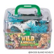20PCS WILD ANIMALS PAIL SET