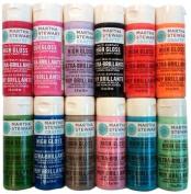 Martha Stewart PROMO771 12 High Gloss Paint Set
