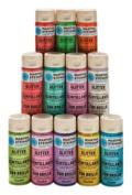 Martha Stewart PROMO773B 12 Glitter Paints, Bright