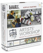 Liquitex Artist Acrylic Easel Set Artists' Workshop Series 1