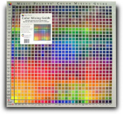 Colour Mixing Guide - Magic Palette Studio Colour Guide - 841 Colours