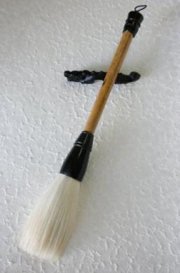 Bamboo & Goat Sumi Paint Brush- 3.2cm Diameter