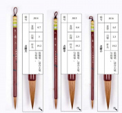 S,M,L 3pcs Dianjing Wolf Hair Zhouhuchen Tiger Chinese Calligraphy and Painting Brush