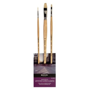 Global Art Materials Escoda Antonio Lopez Garcia Oil/Acrylic Brush Set No.2