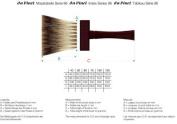 da Vinci Series 96 Pure Badger Hair Softener 5-Row Thickness Paintbrush Set in Plastic , Size 40