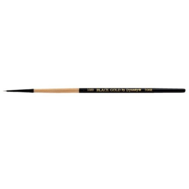 Black Gold Synthetic Sable 206R Round 10/0