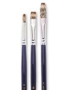 Royal & Langnickel ROYAL & LANGNICKEL Langnickel Royal Sable Brushes Long Handle 8 flat 5590
