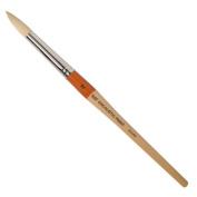 R & F Handmade Paints Encaustic Round Paintbrush, No.12