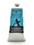 Grumbacher Academy Acrylic Colours permanent blue light [PACK OF 3 ]