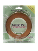 Diamond Tech Studio Line Stained Glass Foil black lined copper 0.6cm . [PACK OF 2 ]