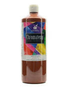 Chroma Inc. ChromaTemp Artists' Tempera Paint brown 950ml [PACK OF 2 ]