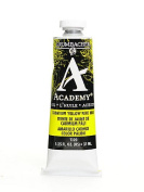 Grumbacher Academy Oil Colours cadmium yellow pale hue 35ml [PACK OF 3 ]