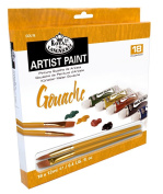 Royal & Langnickel Gouache Paint, 18-Piece