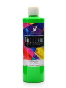 Chroma Inc. ChromaTemp Artists' Tempera Paint fluorescent green 500ml [PACK OF 3 ]