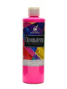 Chroma Inc. ChromaTemp Artists' Tempera Paint fluorescent pink (violet) 500ml [PACK OF 3 ]