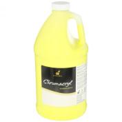 Chroma Chromacryl Non-Toxic Premium Acrylic Paint - 1.9l - Cool Yellow