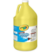 Wholesale CASE of 10. 3.8l Washable Paints-Washable Paint, 3.8l, Yellow