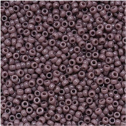 Toho Round Seed Beads 15/0 #52 'Opaque Lavender' 8 Gramme Tube