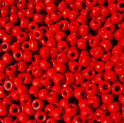 JOLLY STORE Crafts Red Pony Beads 9x6mm 500pc