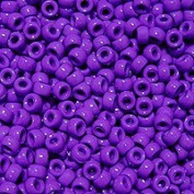 JOLLY STORE Crafts Grape Pony Beads 9x6mm 500pc