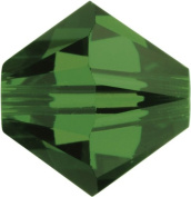 Create Your Style. Elements 6mm Bicone Crystals, Fern Green