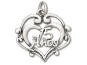 Sterling Silver #1 Aunt Charm Charm