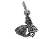 Sterling Silver Fish Charm