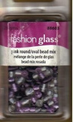 Fashion Glass Beads - Multi-coloured Oval Mix - #88603