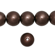 1 Strand Maroon Glass Pearl Spacer Round Loose Beads Fit Necklace Bracelets Wholesale 8x8x8mm 110pcs GP0003-13