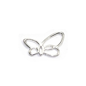 Stones and Findings Exclusive Sterling Silver Butterfly Charm