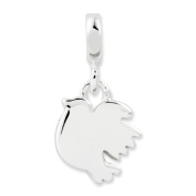 Sterling Silver Polished Bird Enhancer, Best Quality Free Gift Box Satisfaction Guaranteed