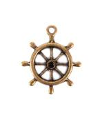 Boat Wheel Charm