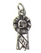Charm Gallery 77222 Silver Plated 1ST Place Charm
