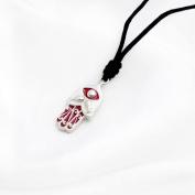 Necklace Pendant Jewellery Hamsa (Hand of God) 3 Handmade Silver Pewter