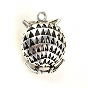 Cute Design Alloy Owl Pendant, Scarf Accessories, Fat Baby Owl Scarf Pendant