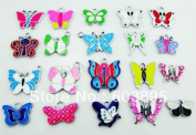 Butterfly Birds Moth Mixed Lot Charms - Lot of 15 - DIY Jewellery Crafting 8mm