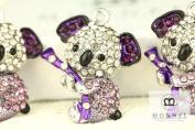 H343 Crystal Koala Bear Charm Pendant Wholesale