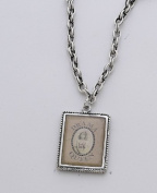 Vintage Style Charm Chain Necklace - Drama Queen