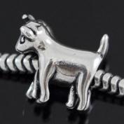 Loving Goat .925 Sterling Silver charm Fits Pandora, Biagi, Troll, Chamilla and Many Other European Charm #EC513