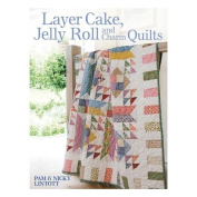 David & Charles Books Layer Cake Jelly Roll And Charm Quilts DC-32085