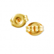 Standard Earring Backs Gold Plated