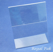 Regal Pak ® Acrylic Sign Holder (Slant Back)14cm X 18cm H