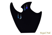 Regal Pak ® Black Velvet Necklace Stand 24cm X 24cm H
