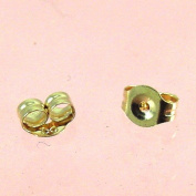 14k Yellow Gold Small Earring Backs