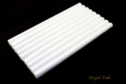 Regal Pak ® White Leatherette Ring Slot Full Size Foam Pad With 8 Sections 36cm X 19cm