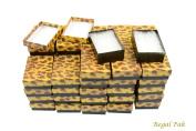Regal Pak ® 50-Piece Leopard Print Cotton Filled Box 8.3cm x 5.7cm x 2.5cm H