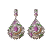 Twinkle Teardrops Earring Fashion Beadwork - Packed for Gift in Silver bag
